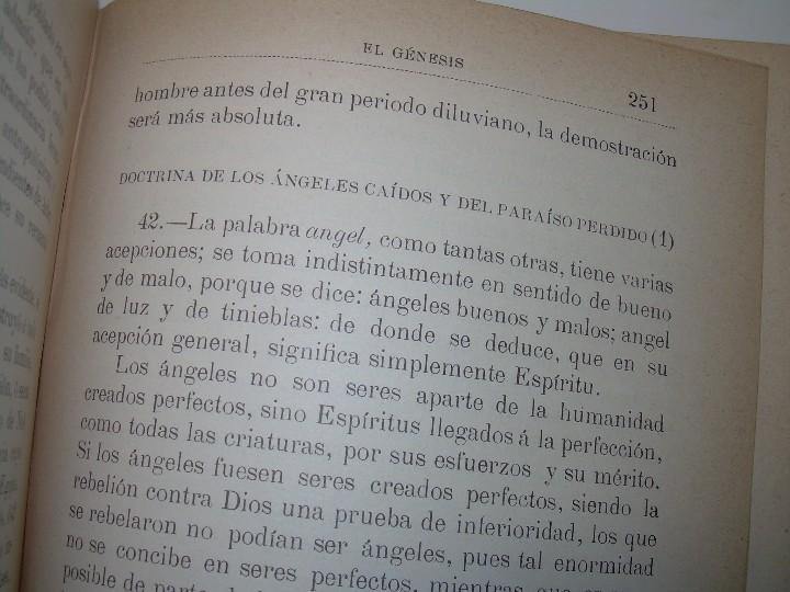 Libros antiguos: EL GENESIS DE LOS MILAGROS Y LAS PREDICCIONES SEGUN EL ESPIRITISMO..AÑO 1904....ALLAN KARDEC - Foto 8 - 107256987