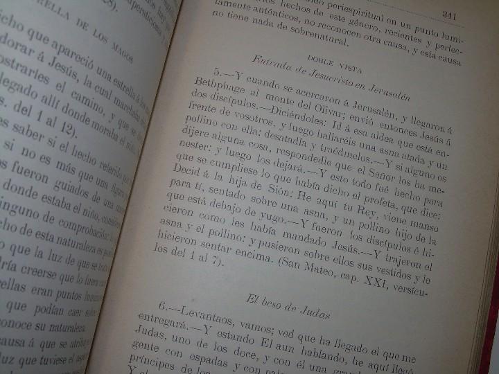 Libros antiguos: EL GENESIS DE LOS MILAGROS Y LAS PREDICCIONES SEGUN EL ESPIRITISMO..AÑO 1904....ALLAN KARDEC - Foto 11 - 107256987