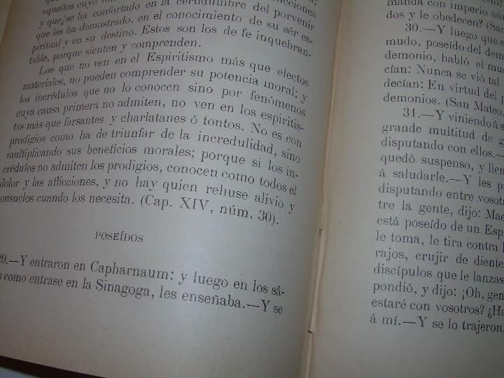 Libros antiguos: EL GENESIS DE LOS MILAGROS Y LAS PREDICCIONES SEGUN EL ESPIRITISMO..AÑO 1904....ALLAN KARDEC - Foto 13 - 107256987