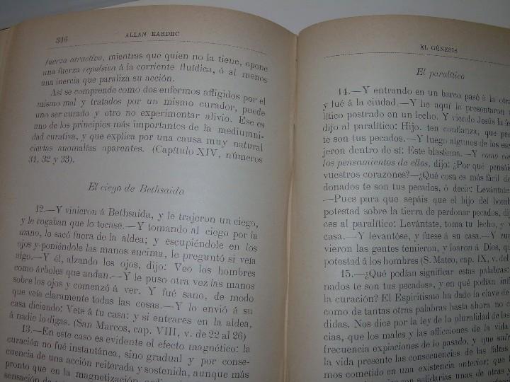 Libros antiguos: EL GENESIS DE LOS MILAGROS Y LAS PREDICCIONES SEGUN EL ESPIRITISMO..AÑO 1904....ALLAN KARDEC - Foto 14 - 107256987