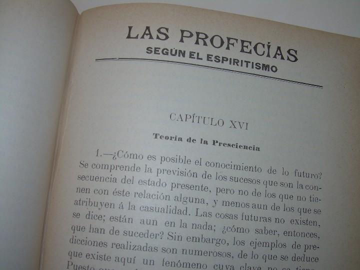 Libros antiguos: EL GENESIS DE LOS MILAGROS Y LAS PREDICCIONES SEGUN EL ESPIRITISMO..AÑO 1904....ALLAN KARDEC - Foto 16 - 107256987