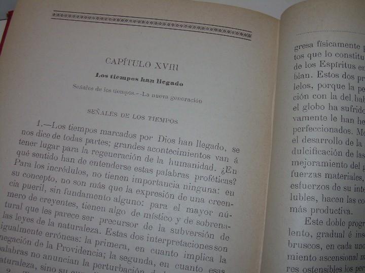 Libros antiguos: EL GENESIS DE LOS MILAGROS Y LAS PREDICCIONES SEGUN EL ESPIRITISMO..AÑO 1904....ALLAN KARDEC - Foto 18 - 107256987