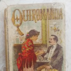 Libros antiguos: LA QUIROMANCIA ESTUDIOS SOBRE LA MANO, EL CRANEO Y LA CARA -VERSIÓN ESPAÑOLA- JULIO ANDRIEU. RARO!!!. Lote 109136923