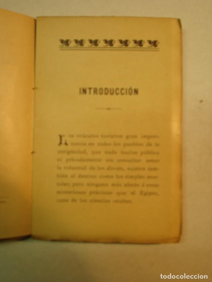 Libros antiguos: Ben-Ayub-Abd-El-Ix: Libro del destino o el oráculo de la fortuna y el amor (1901) - Foto 4 - 172741237