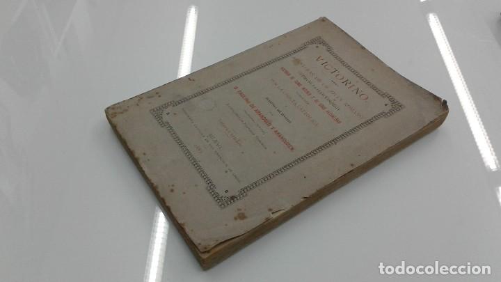 Libros antiguos: AVENTURAS DE UN JOVEN ROMANO ViCTIMA DE LA FRANCMASONERIA Pablo Victorino RARO 1885 BILBAO - Foto 3 - 110233147