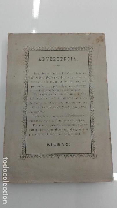 Libros antiguos: AVENTURAS DE UN JOVEN ROMANO ViCTIMA DE LA FRANCMASONERIA Pablo Victorino RARO 1885 BILBAO - Foto 7 - 110233147