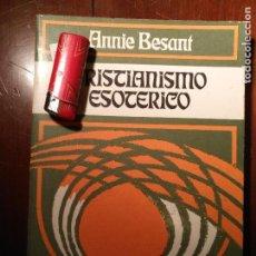 Livres anciens: LIBRO - CRISTIANISMO ESOTERICO. Lote 111908623