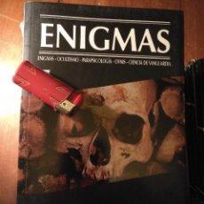 Libros antiguos: LIBRO - ENIGMAS OCULTISMO PARASICOLOGIA OVNIS CIENCIAS DE VANGUARDIA MUERTE Y REENCARNACION. Lote 111913095