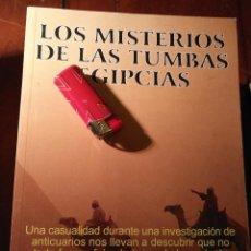 Libros antiguos: LIBRO - LA MALDICION DE LOS FARAONES, MISTERIOS DE LAS TUMBAS EGIPCIAS . Lote 111914047