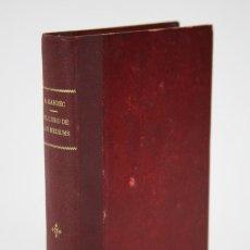 Libros antiguos: ANTIGUO LIBRO TAPA DURA - EL LIBRO DE LOS MÉDIUMS. ALLAN KARDEC - ED. MAUCCI, C. 1907. Lote 111977583