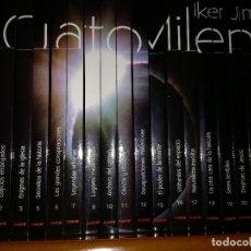 Libros antiguos: 17 LIBROS DVD COLECCION CUARTO MILENIO IKER JIMENEZ 1 PRIMERA TEMPORADA. Lote 113703115