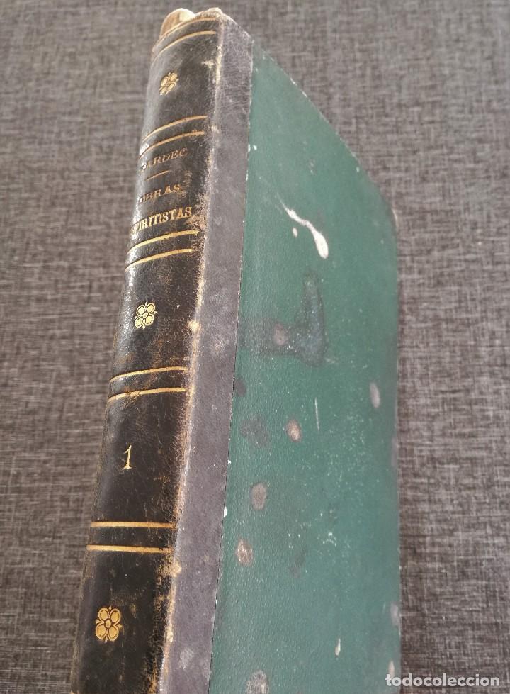 Libros antiguos: KARDEC (1879-1880): EL LIBRO DE LOS ESPÍRITUS, LIBRO DE LOS MÉDIUMS, EVANGELIO SEGÚN EL ESPIRITISMO - Foto 2 - 115396827