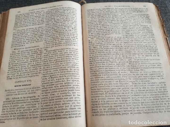 Libros antiguos: KARDEC (1879-1880): EL LIBRO DE LOS ESPÍRITUS, LIBRO DE LOS MÉDIUMS, EVANGELIO SEGÚN EL ESPIRITISMO - Foto 15 - 115396827