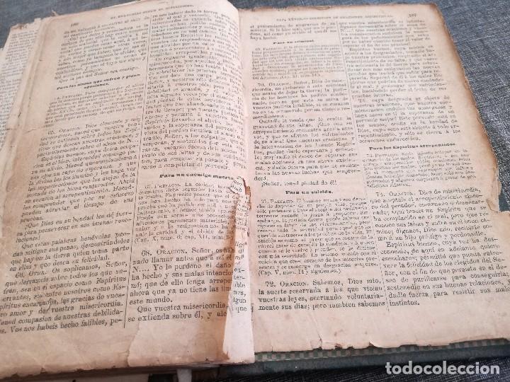 Libros antiguos: KARDEC (1879-1880): EL LIBRO DE LOS ESPÍRITUS, LIBRO DE LOS MÉDIUMS, EVANGELIO SEGÚN EL ESPIRITISMO - Foto 23 - 115396827