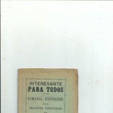 Libros antiguos: SUMARIA EXPOSICIÓN DE LOS PRINCIPIOS ESPIRITISTAS - QUINTÍN LÓPEZ GÓMEZ - 1896 - ESPIRITISMO. Lote 116452287