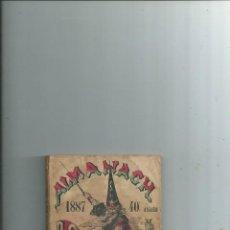 Libros antiguos: ASTROLOGÍA MAGIA OCULTISMO - ALMANACH ASTROLOGIQUE 1887 - GRABADOS. Lote 116453191