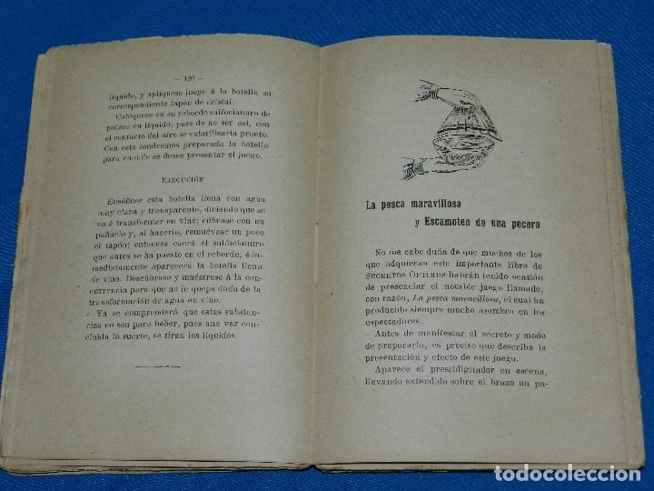 Libros antiguos: (MF) LIBRO MAGIA - JOAQUIN PARTAGAS - EL PRESTIGITADOR OPTIMUS O MAGIA ESPECIAL , S.XIX - Foto 5 - 118281755