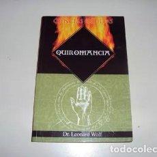 Alte Bücher - Quiromancia - Dr. Leonard Wolf - 122999295