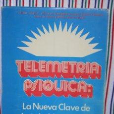 Libros antiguos: TELEMETRIA PSIQUICA-ROBERT A. FERGUSON. Lote 125051183