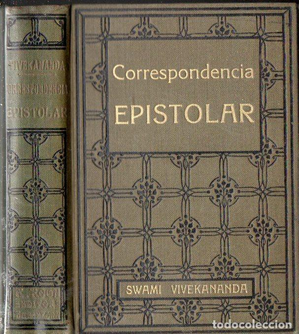 SWAMI VIVEKANANDA : CORRESPONDENCIA EPISTOLAR (ANTONIO ROCH, C. 1930) (Libros Antiguos, Raros y Curiosos - Parapsicología y Esoterismo)