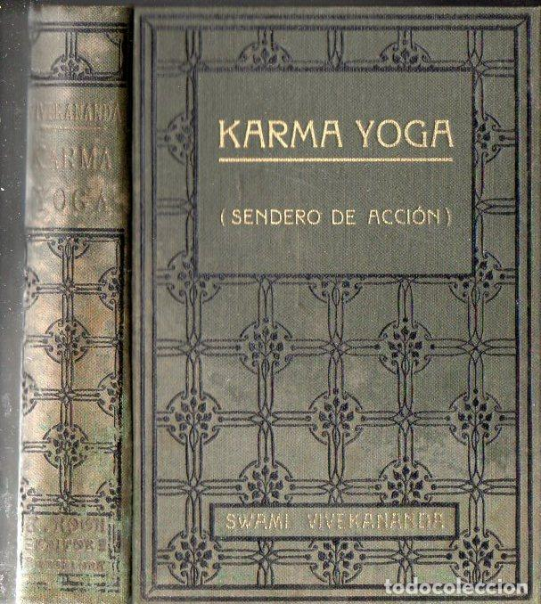 SWAMI VIVEKANANDA : KARMA YOGA (ANTONIO ROCH, C. 1930) (Libros Antiguos, Raros y Curiosos - Parapsicología y Esoterismo)
