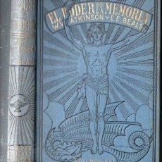 Libros antiguos: ATKINSON Y BEALS : EL PODER DE LA MEMORIA (ANTONIO ROCH, C. 1930). Lote 125311031