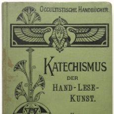 Libros antiguos: KATECHISMUS DER HANDLESEKUNST. - GESSMANN, GUSTAV W. BERLIN, S.A. (C. 1900).. Lote 123194042