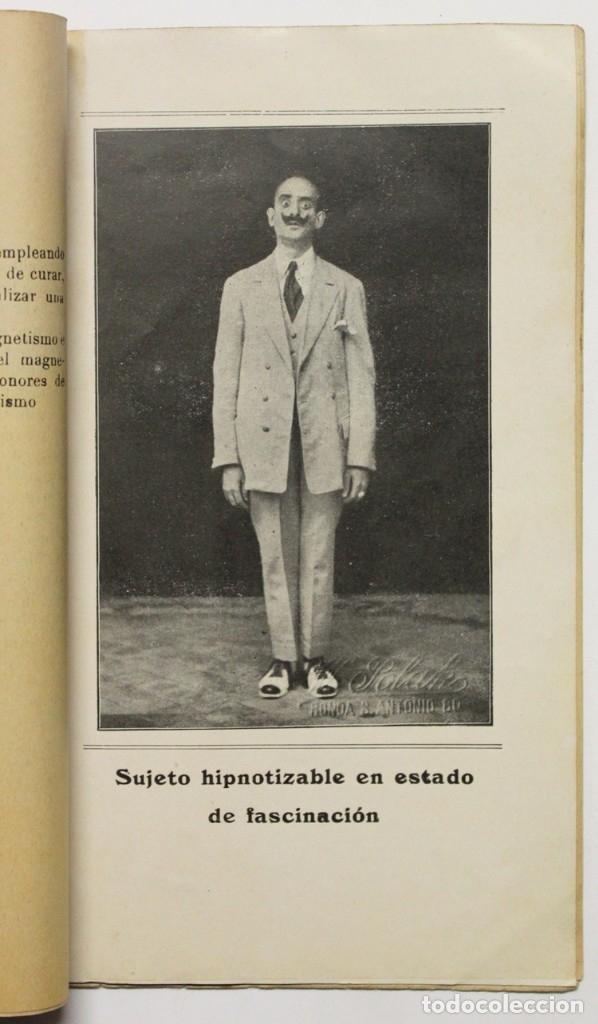 Libros antiguos: HIPNOTISMO, MAGNETISMO Y SONAMBULISMO. - SUAREZ, N. - Foto 2 - 123250624