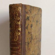 Libros antiguos: REVISTA FRENOLÓGICA. - [REVISTA.] PERS Y RAMONA, MAGIN. VILLANUEVA Y GELTRÚ, 1852-53.. Lote 123270803