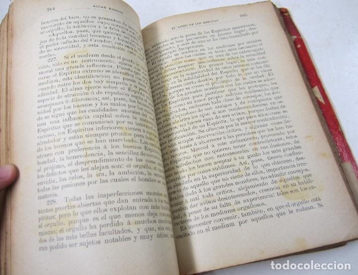 Libros antiguos: El libro de los mediums, Allan Kardec, 1904, Carbonell y Esteva, Barcelona. 16,5x22cm - Foto 4 - 128525975