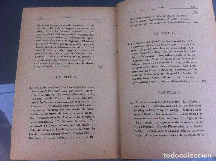 Libros antiguos: AYMERICH. EL HIPNOTISMO PRODIGIOSO (2 TOMOS) 1911, LIBRERÍA DE PUEYO, MADRID. OBRAS TEOSÓFICAS. - Foto 6 - 128847363