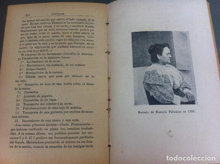 Libros antiguos: AYMERICH. EL HIPNOTISMO PRODIGIOSO (2 TOMOS) 1911, LIBRERÍA DE PUEYO, MADRID. OBRAS TEOSÓFICAS. - Foto 8 - 128847363