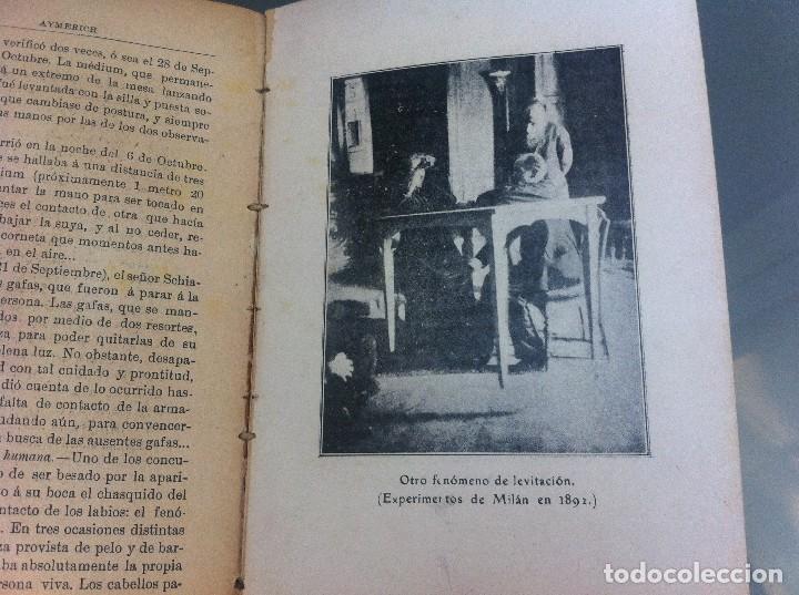 Libros antiguos: AYMERICH. EL HIPNOTISMO PRODIGIOSO (2 TOMOS) 1911, LIBRERÍA DE PUEYO, MADRID. OBRAS TEOSÓFICAS. - Foto 9 - 128847363