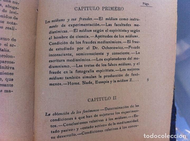 Libros antiguos: AYMERICH. EL HIPNOTISMO PRODIGIOSO (2 TOMOS) 1911, LIBRERÍA DE PUEYO, MADRID. OBRAS TEOSÓFICAS. - Foto 10 - 128847363