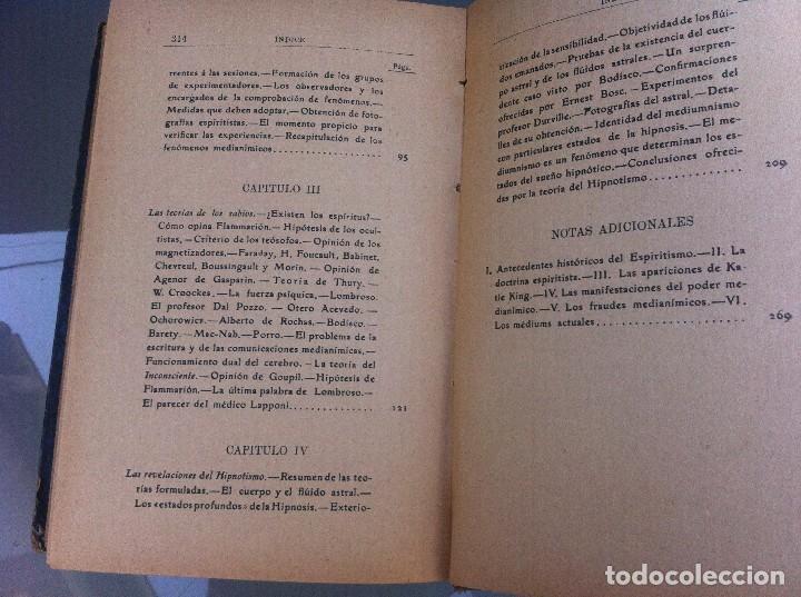 Libros antiguos: AYMERICH. EL HIPNOTISMO PRODIGIOSO (2 TOMOS) 1911, LIBRERÍA DE PUEYO, MADRID. OBRAS TEOSÓFICAS. - Foto 11 - 128847363