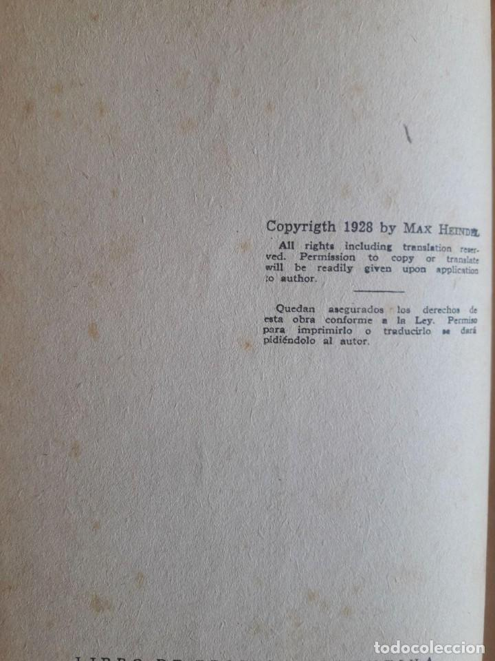 Libros antiguos: ASTROLOGIA CIENTIFICA SIMPLIFICADA / MAX HEINDEL / LA FRATERNIDAD ROSACRUZ / EDI. KIER / 1ª EDICIÓN - Foto 3 - 129702567