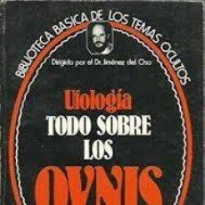 Libros antiguos: COLECCION COMPLETA 24 LIBROS DEL DR. JIMENEZ DEL OSO BIBLIOTECA BÁSICA DE LAS CIENCIAS OCULTAS. Lote 130220355