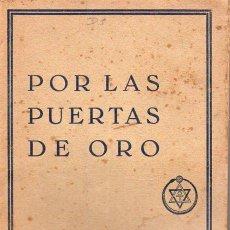 Alte Bücher - MABEL COLLINS : POR LAS PUERTAS DE ORO (ORIENTALISTA MAYNADÉ, 1929) - 130560866