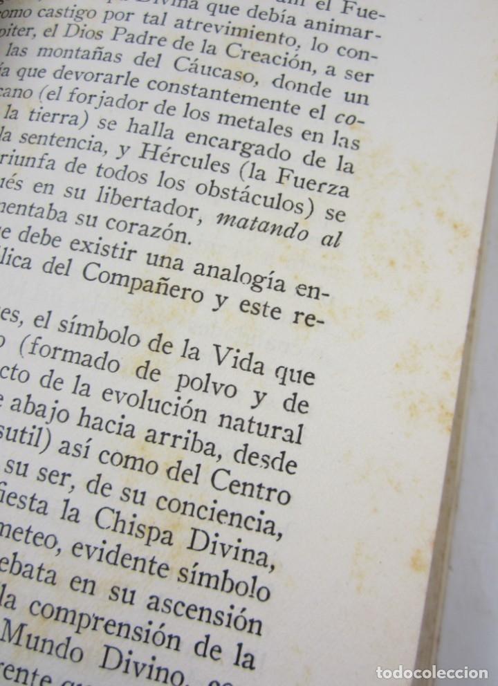 Libros antiguos: Manual del compañero, Magister, 1934, Editorial Maynadé, Barcelona. 12,5x19cm - Foto 4 - 132543150