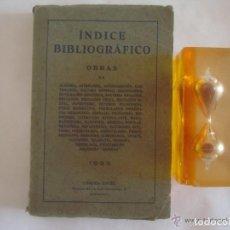 Libros antiguos: RARO MANUAL BIBLIOGRÁFICO CIENCIAS OCULTAS Y ALQUIMIA.1933.CATÁLOGO DE 1891 LIBROS. Lote 133010514