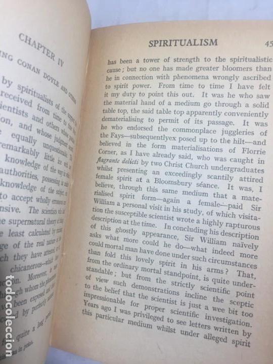 Libros antiguos: Spiritaulism Espiritismo Stuart Cumberland 1919 The Inside Truth buen estado London - Foto 4 - 133327590