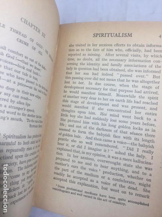 Libros antiguos: Spiritaulism Espiritismo Stuart Cumberland 1919 The Inside Truth buen estado London - Foto 5 - 133327590