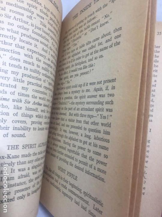 Libros antiguos: Spiritaulism Espiritismo Stuart Cumberland 1919 The Inside Truth buen estado London - Foto 7 - 133327590