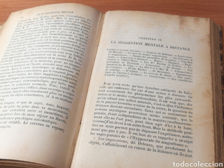 Libros antiguos: SUGESTIÓN MENTAL, DR. J. OCHOROWICZ (PARIS, 1889) - DE LA SUGGESTION MENTALE - Foto 7 - 134225466