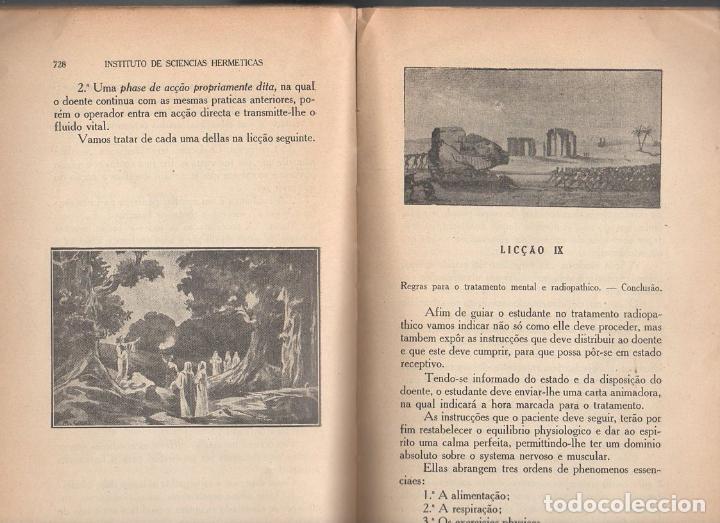 Libros antiguos: RADIOPATÍA - INSTITUTO DE SCIENCIAS HERMÉTICAS, SAO PAULO, 1898 - Foto 4 - 134293770