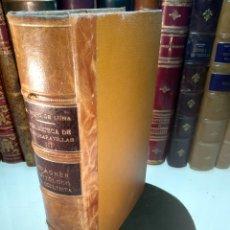 Libros antiguos: WAGNER, MITÓLOGO Y OCULTISTA - MARIO ROSO DE LUNA - BIBLIOTECA DE LAS MARAVILLAS TOMO III - 1917 - M. Lote 137182486