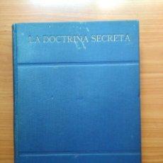 Libros antiguos: LA DOTRINA SECRETA. Lote 137186650