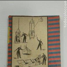 Libros antiguos: JUEGOS DE MANOS Y MAGIA BLANCA - JOSEPH LEEMING. Lote 137632884