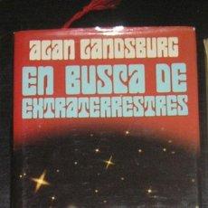 Libros antiguos: EN BUSCA DE EXTRATERRESTRES. ALAN LANDSBURG. EN TAPA DURA.. Lote 138787622