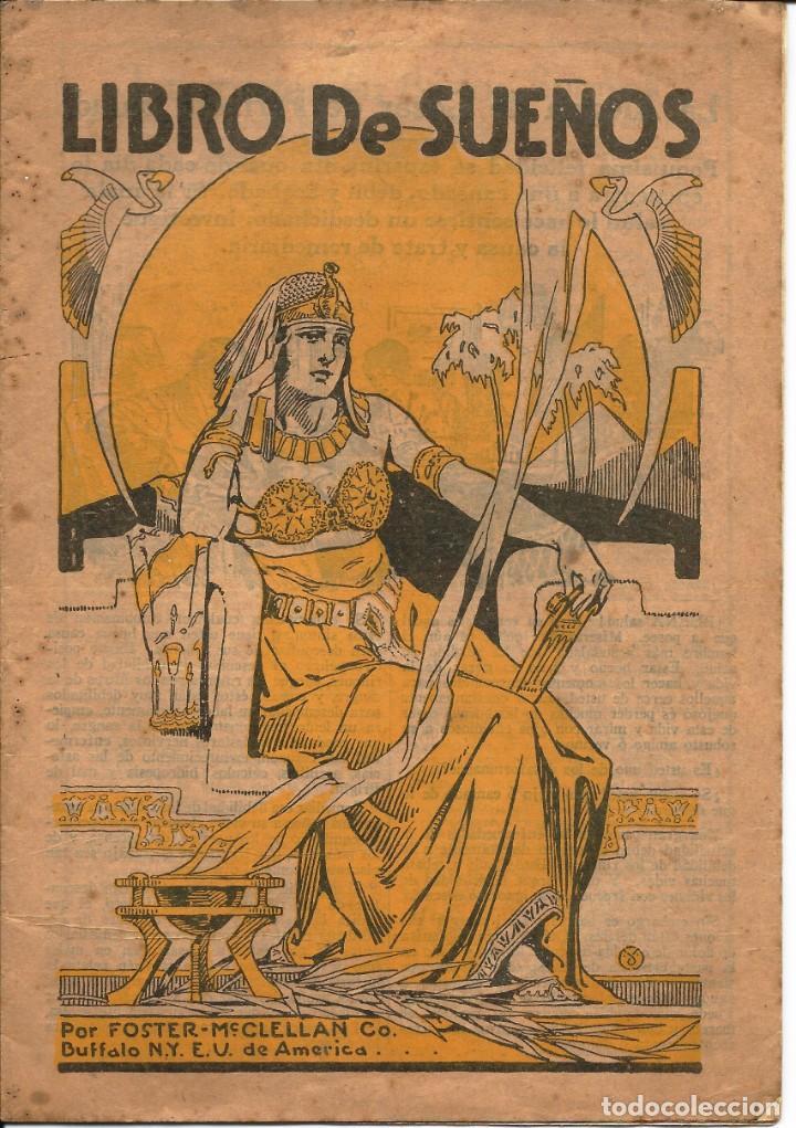 LIBRO DE SUEÑOS (Libros Antiguos, Raros y Curiosos - Parapsicología y Esoterismo)
